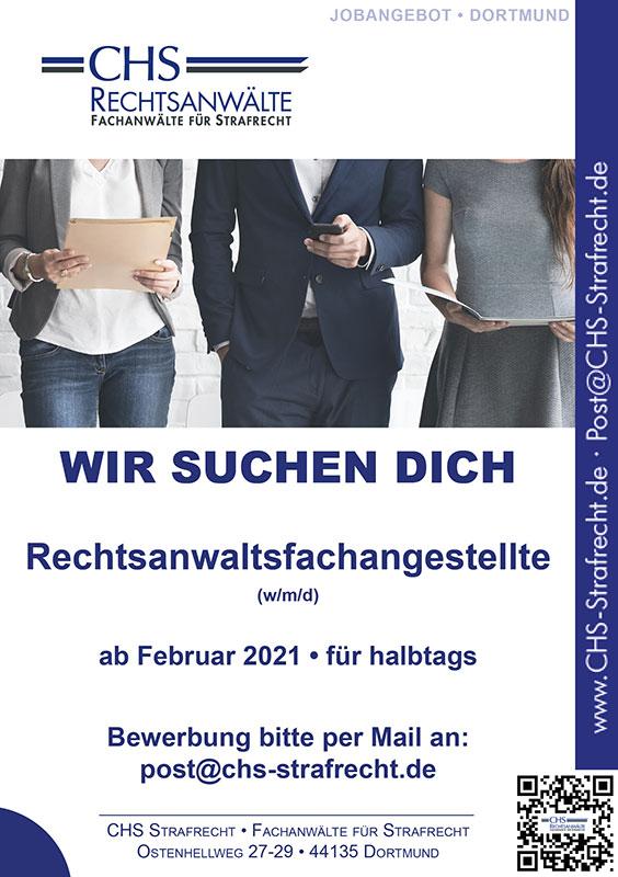 Rechtsanwaltsfachangestellte Dortmund Job